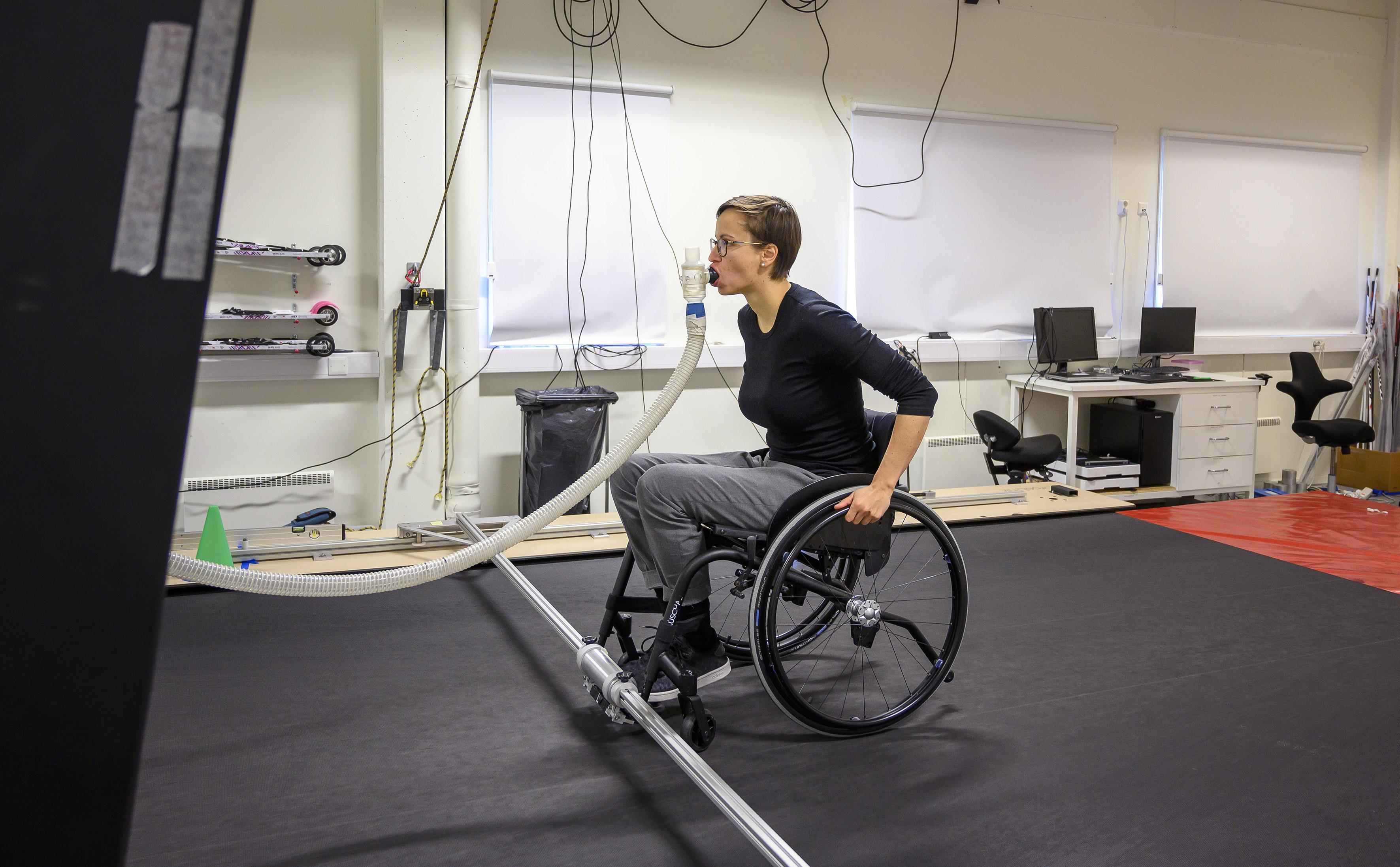Vil gi rullestolen smarte egenskaper