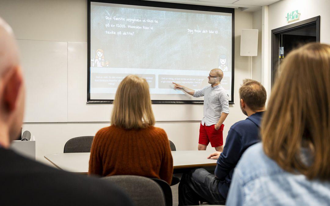 Webabble – gir lærerstudentene ei ekstra praksisøkt